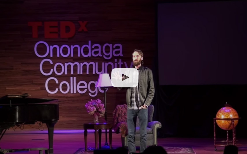 TEDx talk by Robby Swope